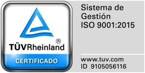 Certificado Calidad Gildicar Estampaciones Metalicas y Embuticion Profunda